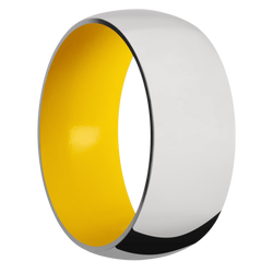 Ring with Corvette Yellow Sleeve