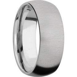 Cross Satin Finish Ring