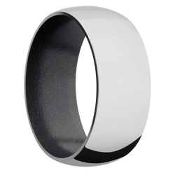 Ring with Dark Grey Sleeve