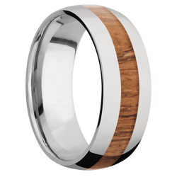 Ring with Desert Iron Wood Inlay