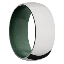 Ring with Eastern Green Sleeve