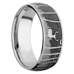 Ring with Elk Mountain Pattern
