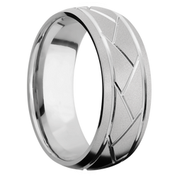 Ring with Flatweave Pattern