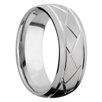 Ring with Flat Weave Pattern