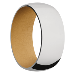 Ring with Gold Sleeve