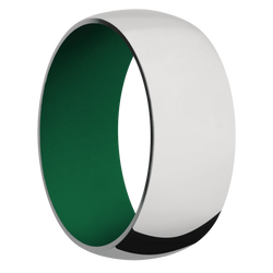 Ring with Green Sleeve