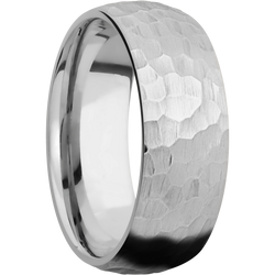Hammer Finish Ring