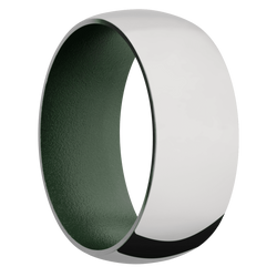 Ring with Highland Green Sleeve