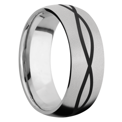 Ring with Infinity Pattern