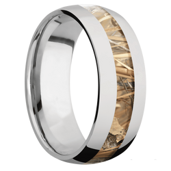 Ring with Kings Field Camo Inlay