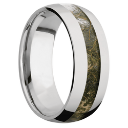 Ring with Kings Mountain Camo Inlay