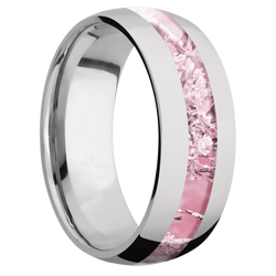 Ring with Kings Pink Camo Inlay