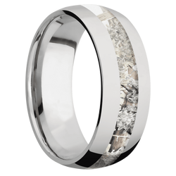 Ring with Kings Snow Camo Inlay