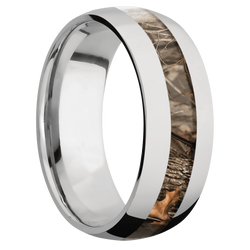 Ring with Kings Woodland Camo Inlay