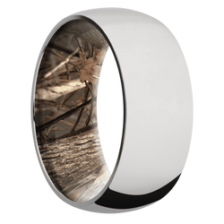 Ring with King's Woodland Camo Sleeve