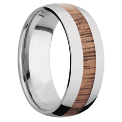 Ring with Koa Inlay