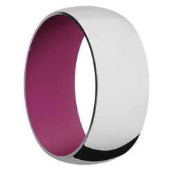 Ring with Magenta Sleeve