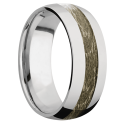 Ring with MossyOak Bottomland Camo Inlay