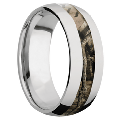 Ring with MossyOak Break Up Infinity Camo Inlay