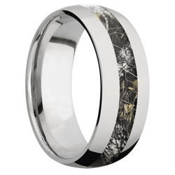 Ring with MossyOak Breakup Camo Inlay