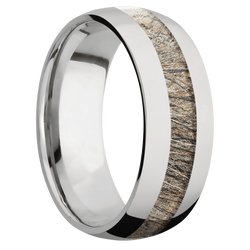 Ring with MossyOak Brush Camo Inlay