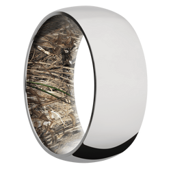 Ring with MossyOak Duck Blind Camo Sleeve
