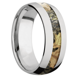 Ring with MossyOak Obsession Camo Inlay