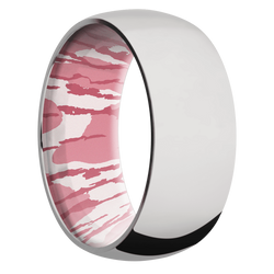 Ring with MossyOak Pink Bottomland Camo Sleeve