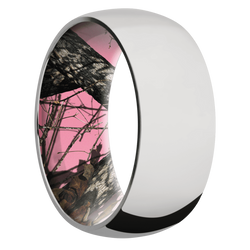 Ring with MossyOak Pink Breakup Camo Sleeve