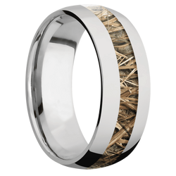 Ring with MossyOak SG Blades Camo Inlay