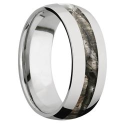 Ring with MossyOak Treestand Camo Inlay