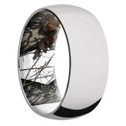 Ring with MossyOak Winter Breakup Camo Sleeve