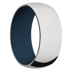 Ring with Navy Blue Sleeve