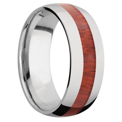 Ring with Padauk Inlay