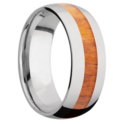Ring with Pernambuco Inlay