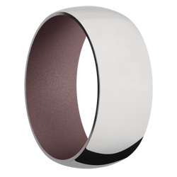 Ring with Pink Champagne Sleeve