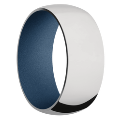 Ring with Polar Blue Sleeve