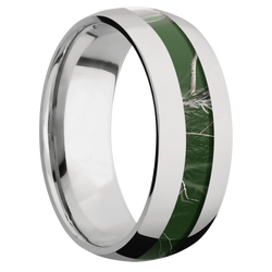 Ring with RealTree APC Green Camo Inlay