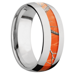Ring with RealTree APC Orange Camo Inlay