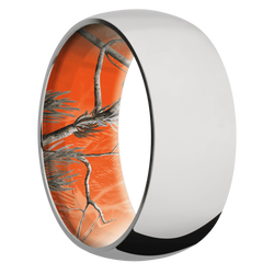 Ring with RealTree APC Orange Camo Sleeve