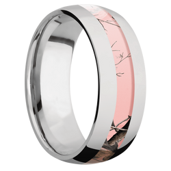 Ring with RealTree APC Pink Camo Inlay