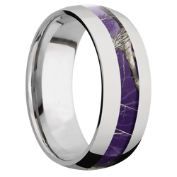 Ring with RealTree APC Purple Camo Inlay