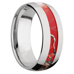 Ring with RealTree APC Red Camo Inlay