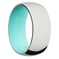 Ring with Robins Egg Blue Sleeve