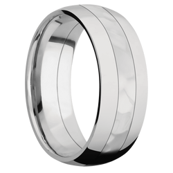 Rock Polish Finish Ring