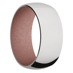 Ring with Rose Gold Sleeve