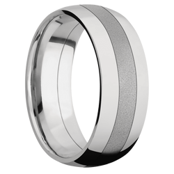 Sand Blast Finish Ring