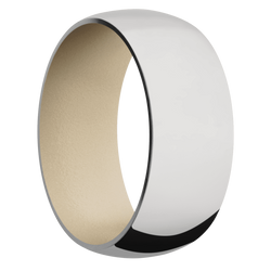 Ring with Sandy Beige Sleeve