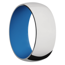 Ring with Sea Blue Sleeve