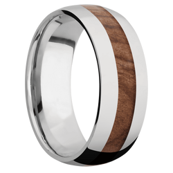 Ring with Sequoia Inlay